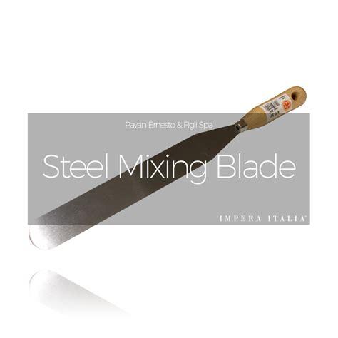 steel blade steel mixing blade impera italia