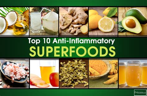 Inflammation Detox Diet by Top 10 Anti Inflammatory Superfoods Drjockers