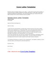 Resume Cover Letter Formats by Cover Letter Exle Doc The Best Letter Sle