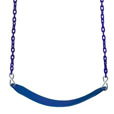 Gorilla Playsets Swing Belt With Chain In Blue 04 0002 B B