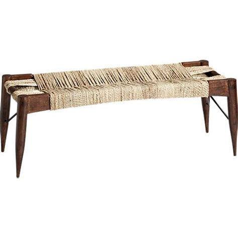 cb2 bench wrap bench in ottomans benches cb2