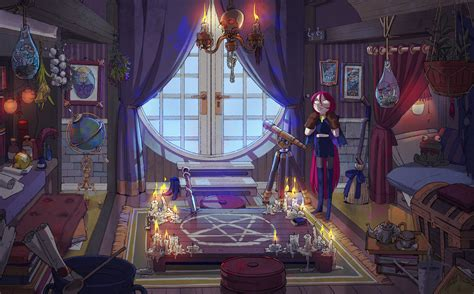 Wiccan Bedroom by Witch S Room By Freiheit On Deviantart