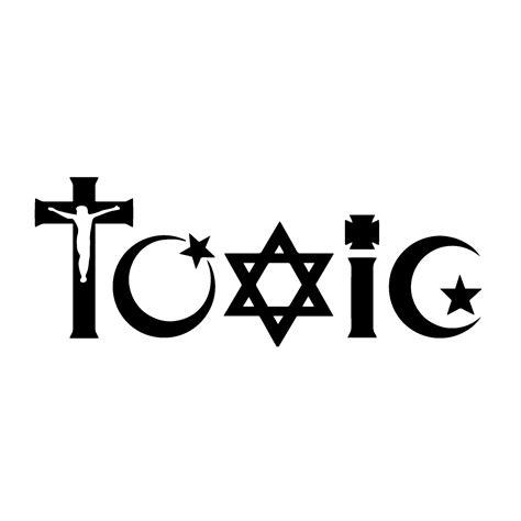 toxic religion womens cotton  neck  shirt