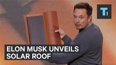 elon musk youtube elon musk unveils solar roof by solarcity youtube
