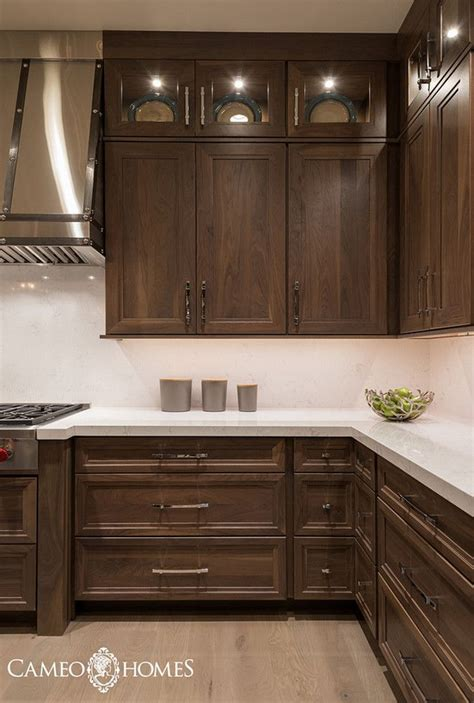white kitchen cabinet design ideas best 25 walnut cabinets ideas on walnut
