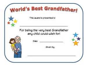 dad certificate kids network