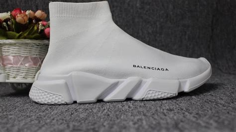 Sepatu Balenciaga Speed Trainer balenciaga speed trainer sock race runners kint white