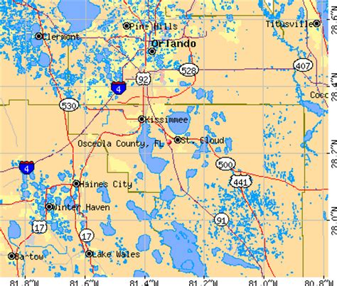 Osceola County Florida Property Records Osceola County Florida Zip Code Map Memes