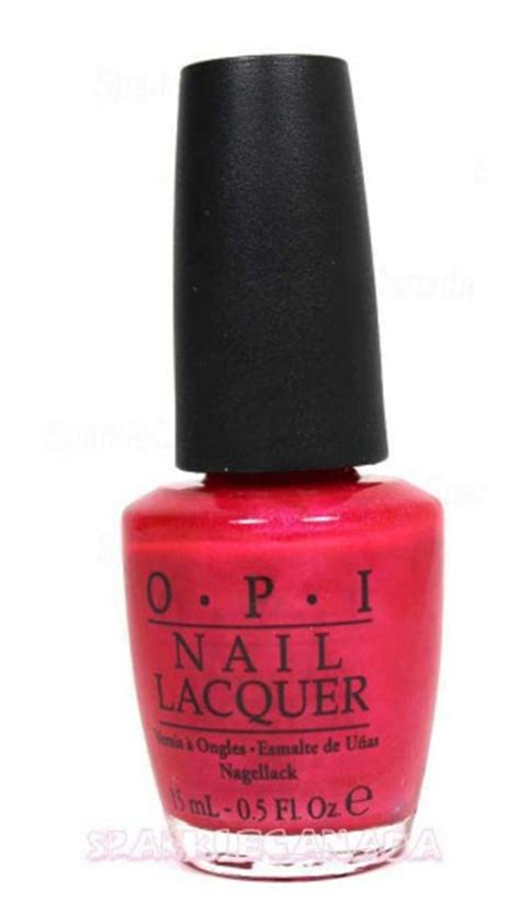 Cha Ching Cherry Nlv12 Opi opi cha ching cherry by opi nlv12 sparkle canada one
