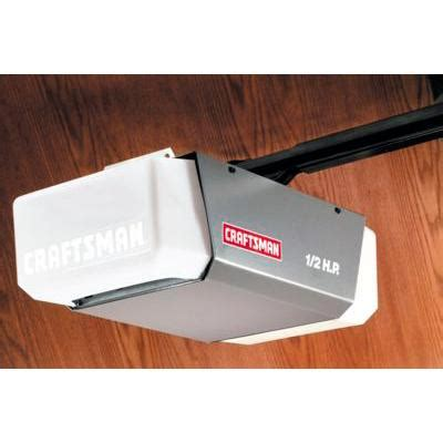 garage door opener remote craftsman 1 2 hp garage door