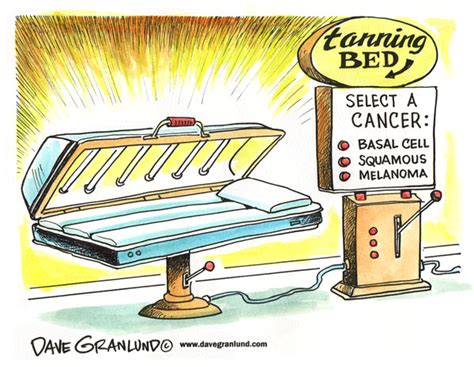 tanning bed risks dave granlund editorial cartoons and illustrations