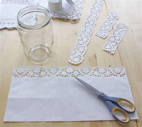 Hochzeitsdeko Material by Hochzeits Special Windlichter Kerzen Deko Glas Spitze Diy