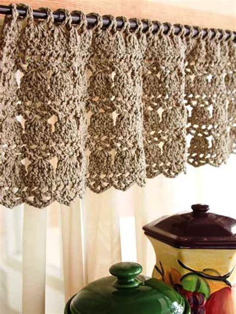 best 25 crochet curtain pattern ideas on