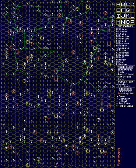 maps  data traveller rpg blog  zhodani base