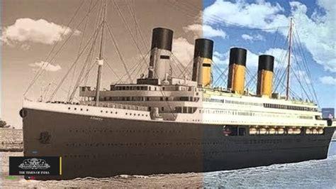 titanic boat hindi titanic ii replica of original ship to set sail in 2018