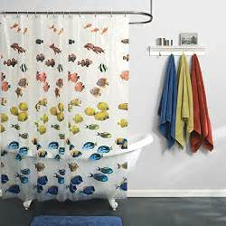 Shower Curtains With Fish Theme Best Fish Shower Curtains Curtain It