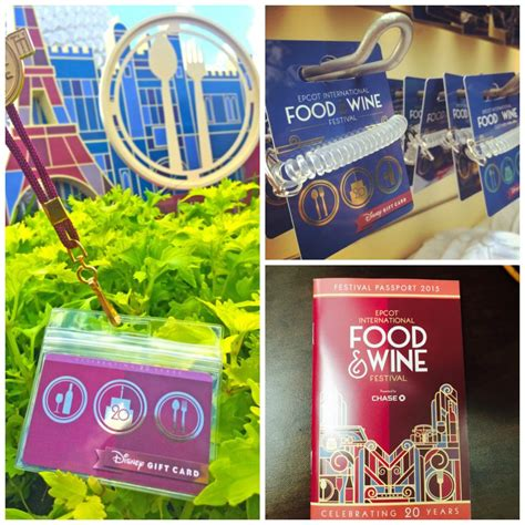 Epcot Gift Card - returning this year new wearable disney gift card design for the epcot food wine