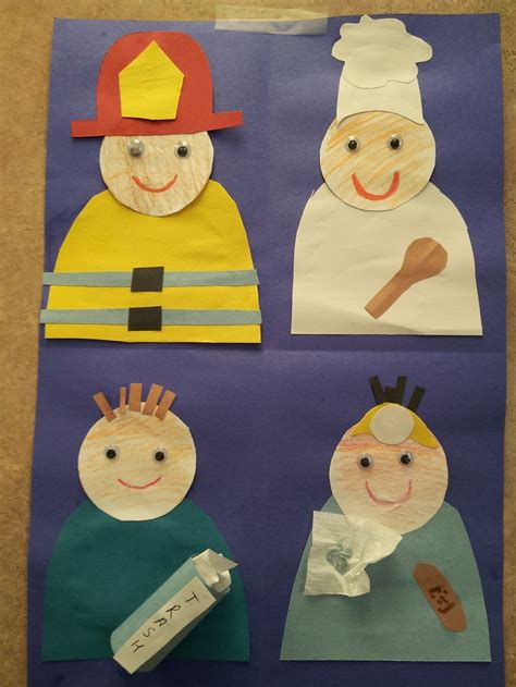 community helpers crafts for