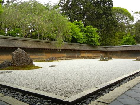 Kyoto Rock Garden The Beautiful Temples And Gardens Of Kyoto