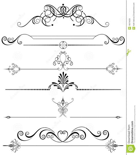 Decoration De Page by Decoration For The Page Royalty Free Stock Image Image