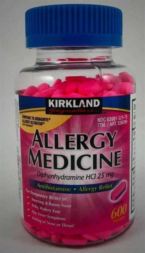 Antihistamine Also Search For Kirkland Allergy Antihistamine Sleep Aid Diphenhydramine Hci 25mg 600 Mini Tab Ebay