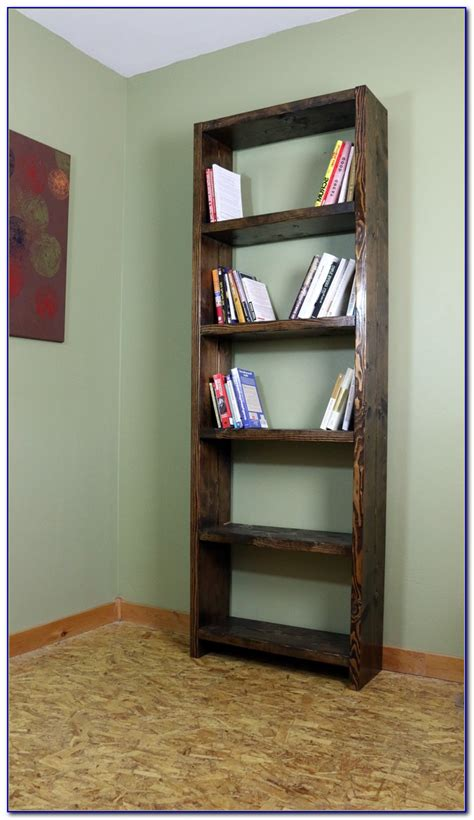 how to build a simple small bookcase bookcase home