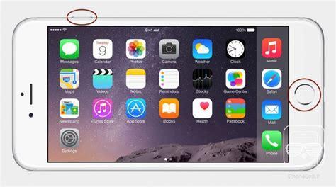 comment faire une capture decran sur iphone  ou iphone