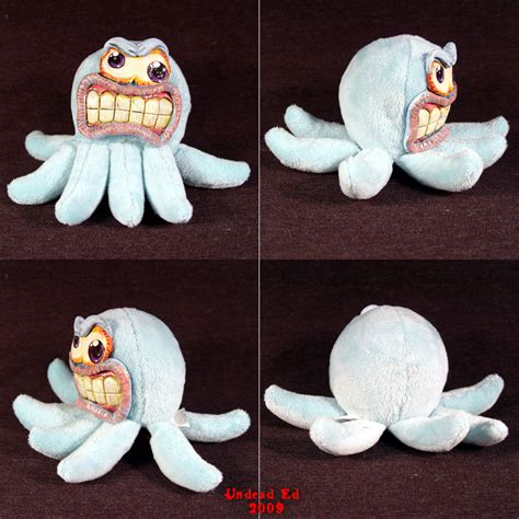 the mad toy marty the mad octopus ooak toy by undead art on