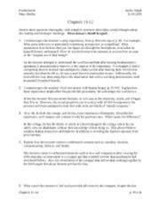 Frankenstein Help Study Documents, Essays, Notes, Study ... Frankenstein Sparknotes Chapter 11