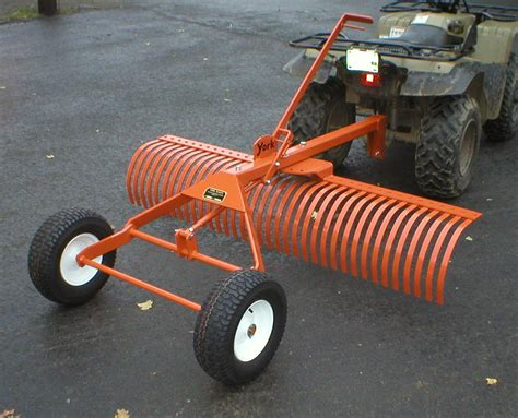 Landscape Rake For Lawn Tractor York Rakes Are Great Mytractorforum The
