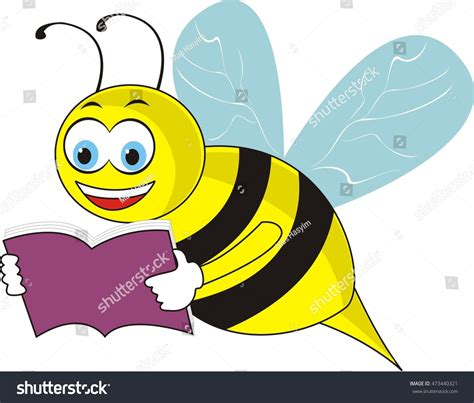 bee a book of valuable information for bee hunters tell how to line bees to trees etc classic reprint books bee reading book stock vector 473440321