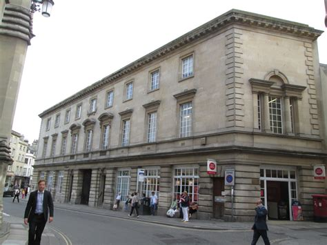 Bath Post Office by Broad Post Office Had The World S Postmark