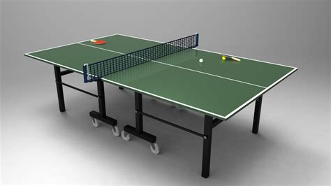 lifetime ready 2 play ping pong table table tennis ping pong table stl iges