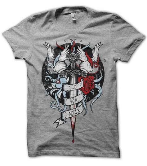 tattoo design t shirts artist of the week t shirt and designs from gaunty