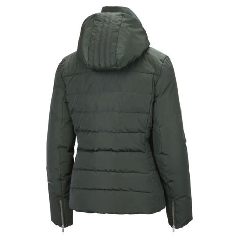 Womens Green Quilted Jacket by Fusalp Izia Quilted Womens Jacket In Green Fusalp