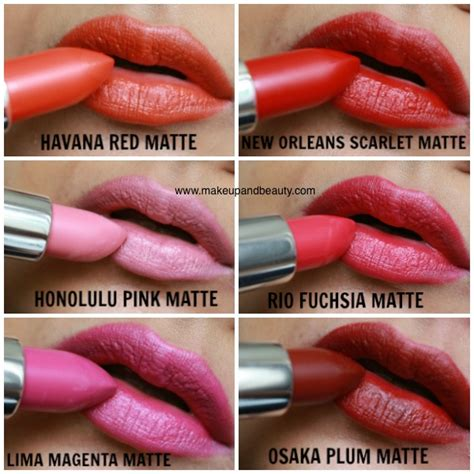 The Shop Lip Matte all the shop matte lipstick photos swatches lip