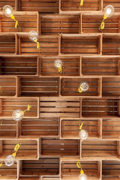decoracion  madera estos cajones de madera son