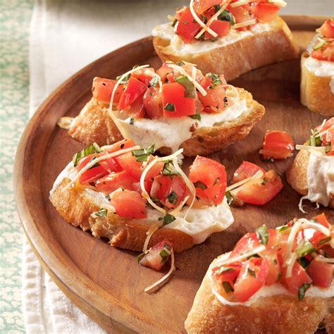 fresh tomato bruschetta recipe taste of home
