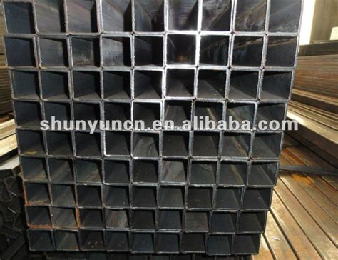 galvanised box section steel 10x10 100x100 galvanized steel square tube gate supplier