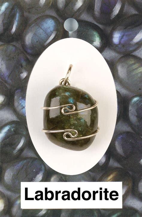 Kalung Batu Labradorite Wire Wrap labradorite wire wrap pendant