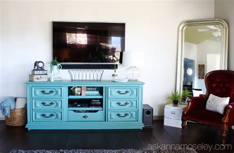 diy dresser to tv console ask