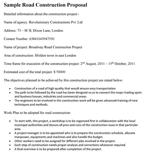Residential Construction Proposal Template Construction Management Rfp Template