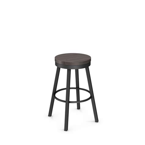 34 Inch Swivel Bar Stools by Amisco Connor 34 Inch Swivel Bar Stool With Wood Seat Am