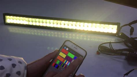multi color led light bar multi color 5d rgb led light bar mobile rgb light