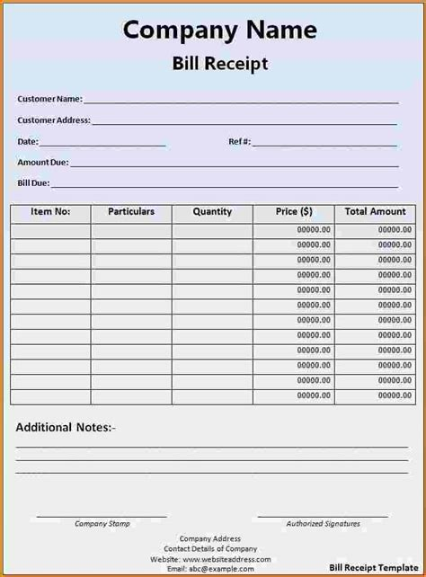 receipt for work done template 7 receipt for work done template restaurant receipt