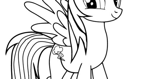 free rainbow dash equestria coloring pages