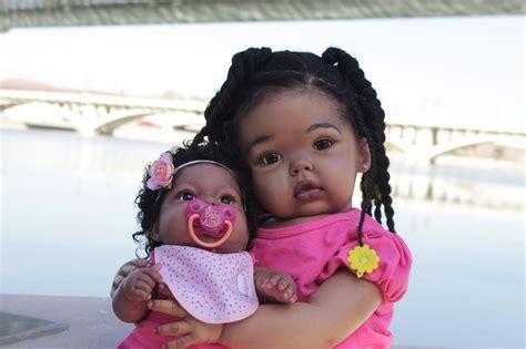 black doll ebay reborn black toddler dolls www imgkid the image