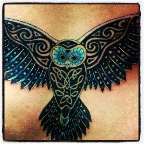 tribal owl tattoo meaning beautiful celtic tattoos search owl tattoos