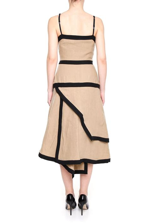 Origami Clothing For - j w origami dress taupe beige s