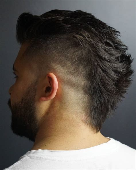 wide mohawk fade short on neck wide mohawk haircut 31 men s hairstyles to try in 2017 men